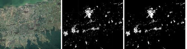 استخراج نقشه اراضی شهری در مناطق شمالی