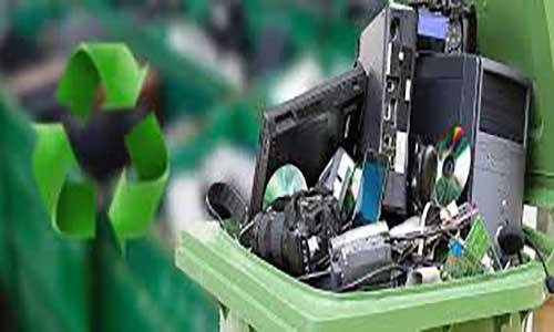 بازیافت ضایعات الکترونیک(مدل گردش مواد و مالی)