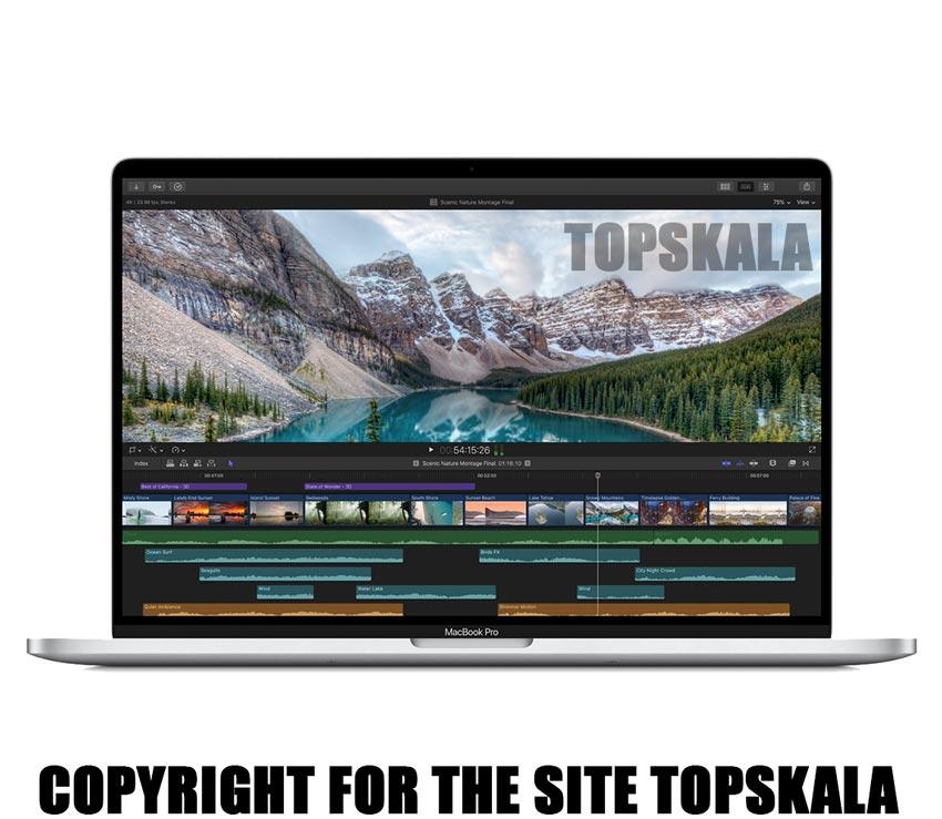 لپ تاپ آکبند اپل مدل Apple Macbook Pro 16 - i9 GPU 4GB