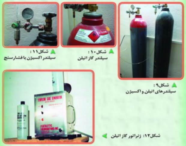 تجهیزات جانبی سبززدایی مرکبات