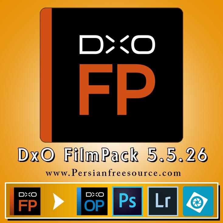 دانلود نرم افزار ویرایش تصاویر دیجیتالی DxO FILMPACK 5.5 + کرک