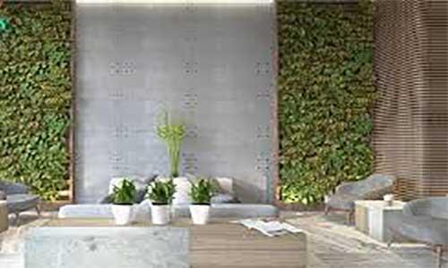 سبز شدن آپارتمان ها