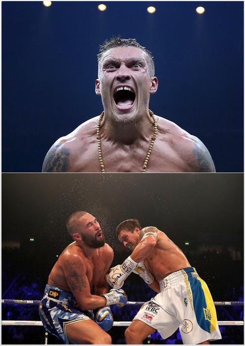 کالکشن مبارزات  اُلکساندر اوسیک : Oleksandr Usyk  Boxing Career Pack-رایگان
