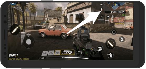 آموزش روشن کردن میکروفون در بازی کال آف دیوتی موبایل اندروید