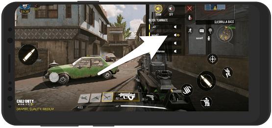 آموزش بی صدا کردن بازیکنان در بازی کالاف دیوتی موبایل