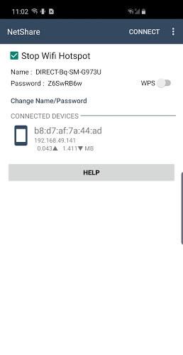 دانلود NetShare 1.94 نت شیر برنامه اشتراک گذاری وای فای برای اندروید 4
