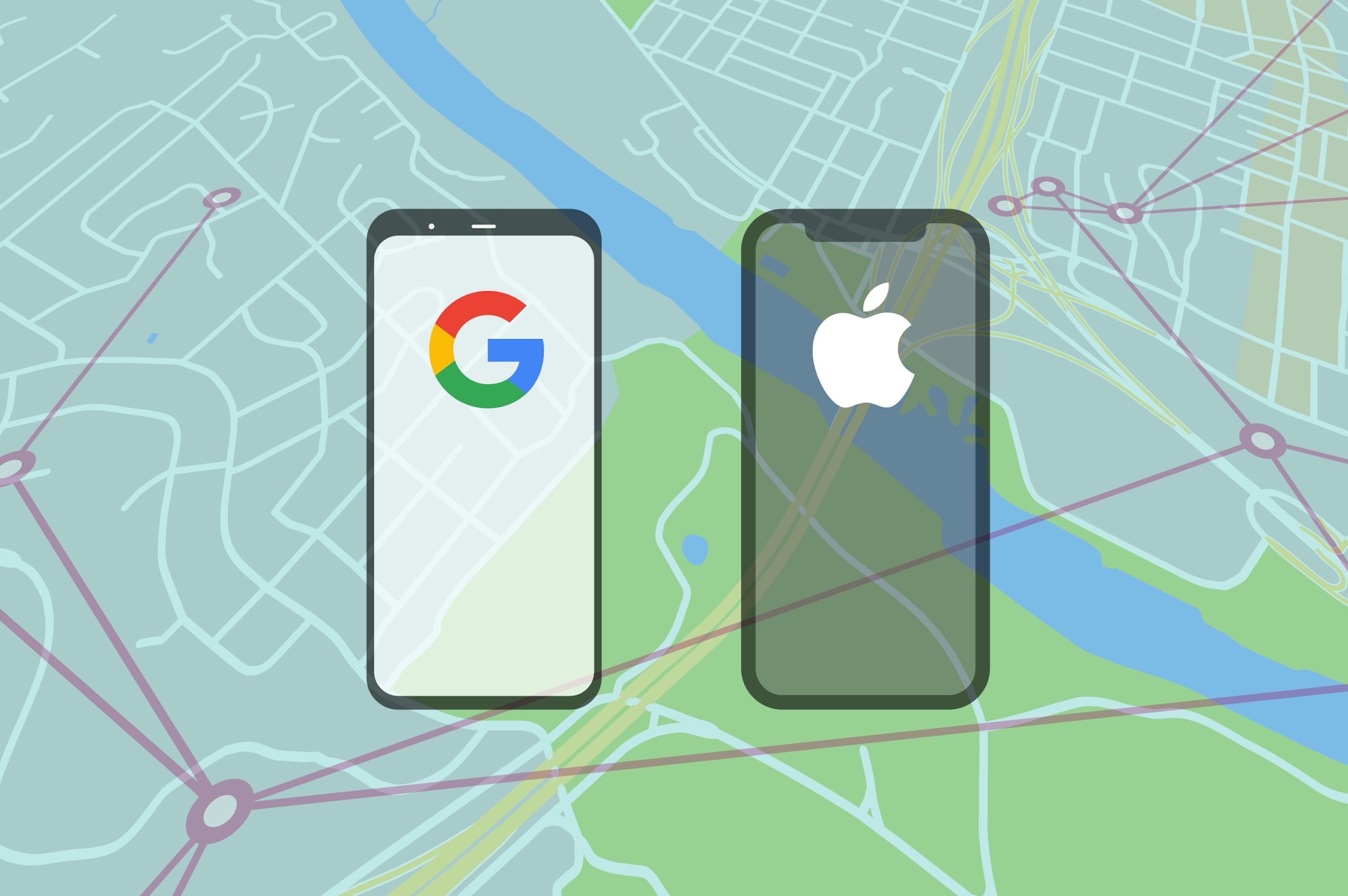 نسخه اولیه برنامه مشترک گوگل و اپل منتشر شده