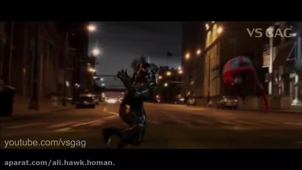 ددپول و مرد عنکبوتی علیه ونوم دوبله فارسی ( فول خنده ) قسمت اول