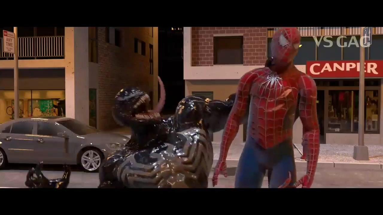 ددپول و مرد عنکبوتی علیه ونوم دوبله فارسی ( فول خنده ) قسمت سوم