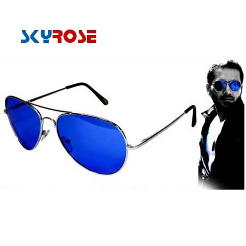 عینک آفتابی خلبانی شیشه آبی