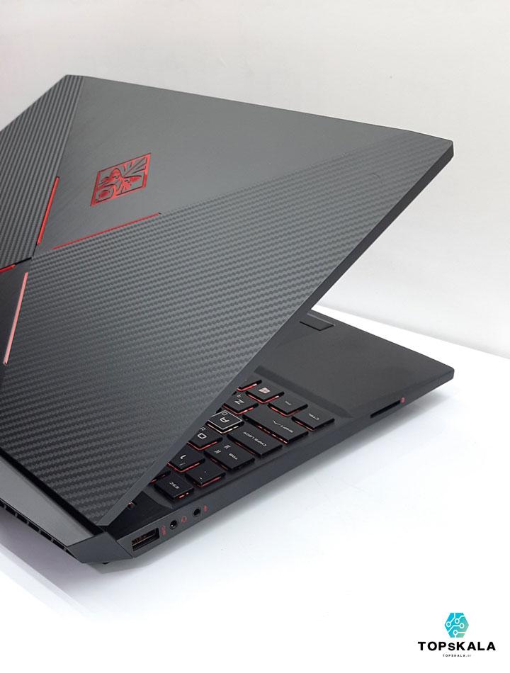 لپ تاپ استوک اچ پی مدل HP OMEN Gaming 15X با مشخصات intel Core i7 9750H - NVIDIA GTX 1650 دارای مهلت تست و گارانتی رایگان / محصول HP