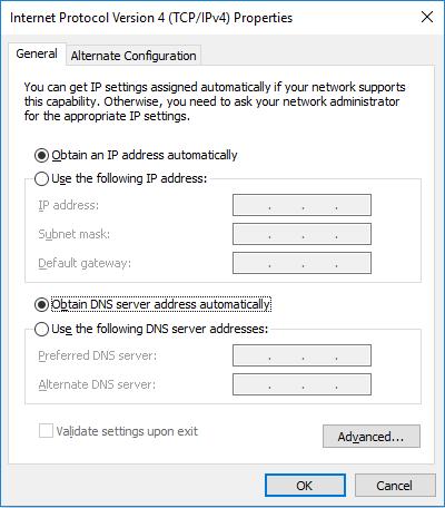 وارد کردن IP برای کامپیوتر
