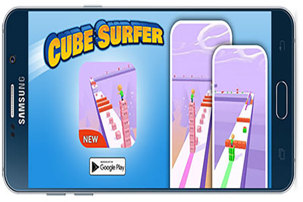 دانلود بازی اندروید Cube Surfer