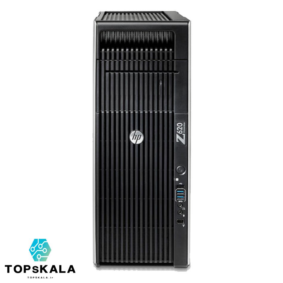 کامپیوتر / کامپیوتر استوک HP Z620 ورک استیشن - پردازنده Xeon E5 2673 V2 با گرافیک nVidia Quadro M4000 8GB