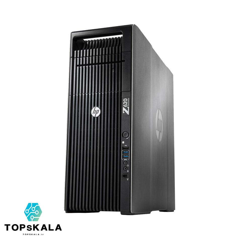 کامپیوتر استوک HP Z620 ورک استیشن با مشخصات CPU Intel Xeon E5 2673 V2-RAM 32GB ECC DDR3 1866-HARD 500GB SSD and 4TB HDD-GPU 8GB nVidia Quadro M4000 - تاپس کالا - PC-Desktop-HP-Z620-workstation-CPU-Intel-Xeon-E5-2673-V2-RAM-32GB-ECC-DDR3-1866-HARD-500GB-SSD-and-4TB-HDD-GPU-8GB-nVidia-Quadro-M4000