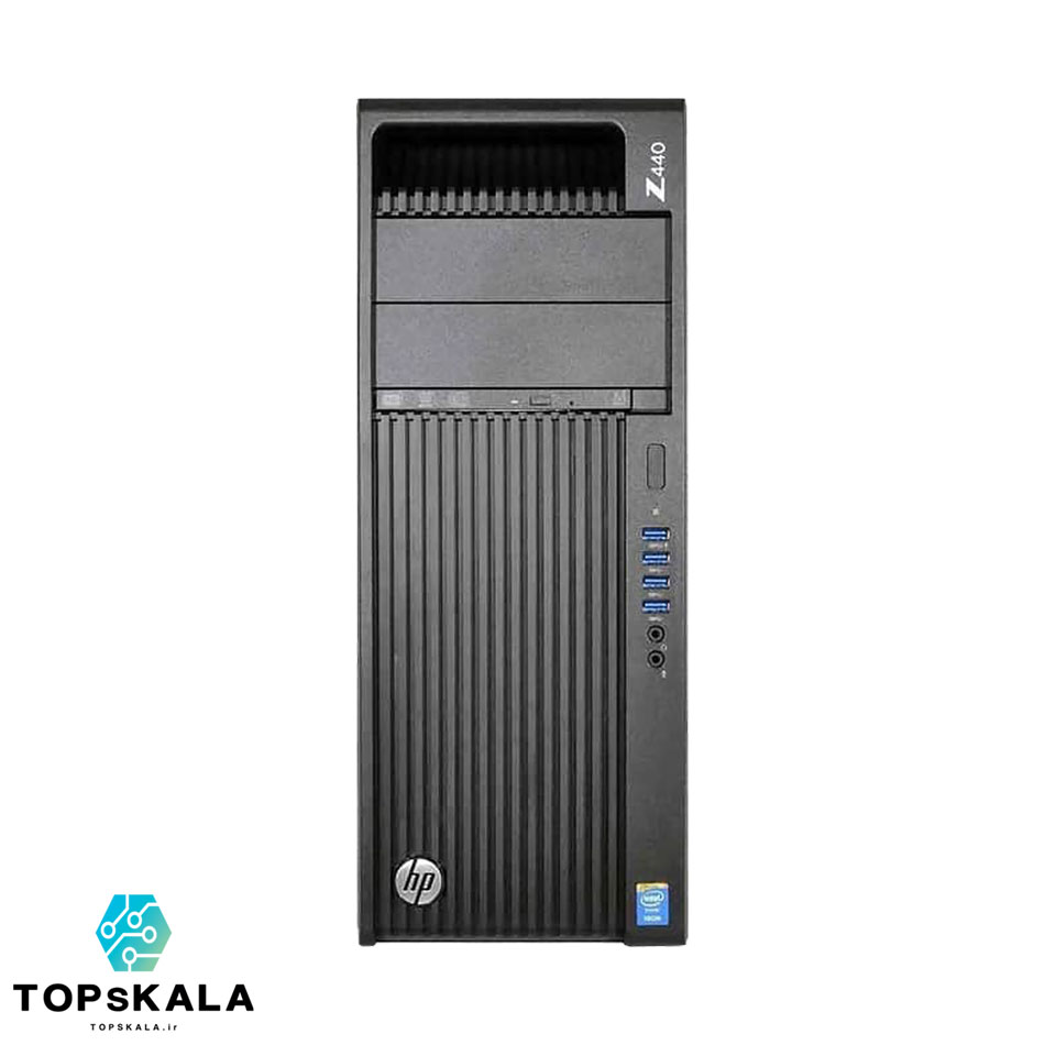 کامپیوتر استوک اچ پی مدل HP Z440 WorkStation با مشخصات پردازنده Intel Xeon E5 2620 V3 و گرافیک nVidia Quadro K4000 دارای مهلت تست و گارانتی رایگان - محصول HP