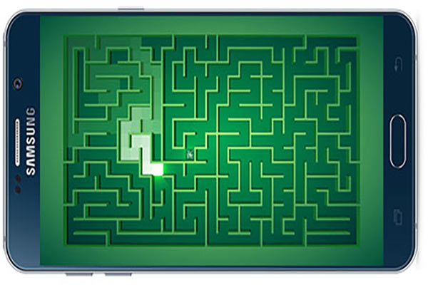 دانلود بازی اندروید مارپیچ : مسیر نور Maze: Path of light