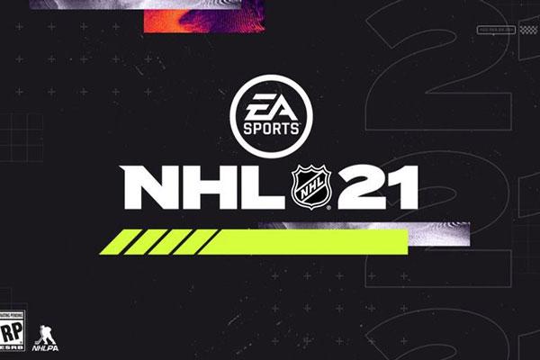 ورزشکار روی جلد NHL 21