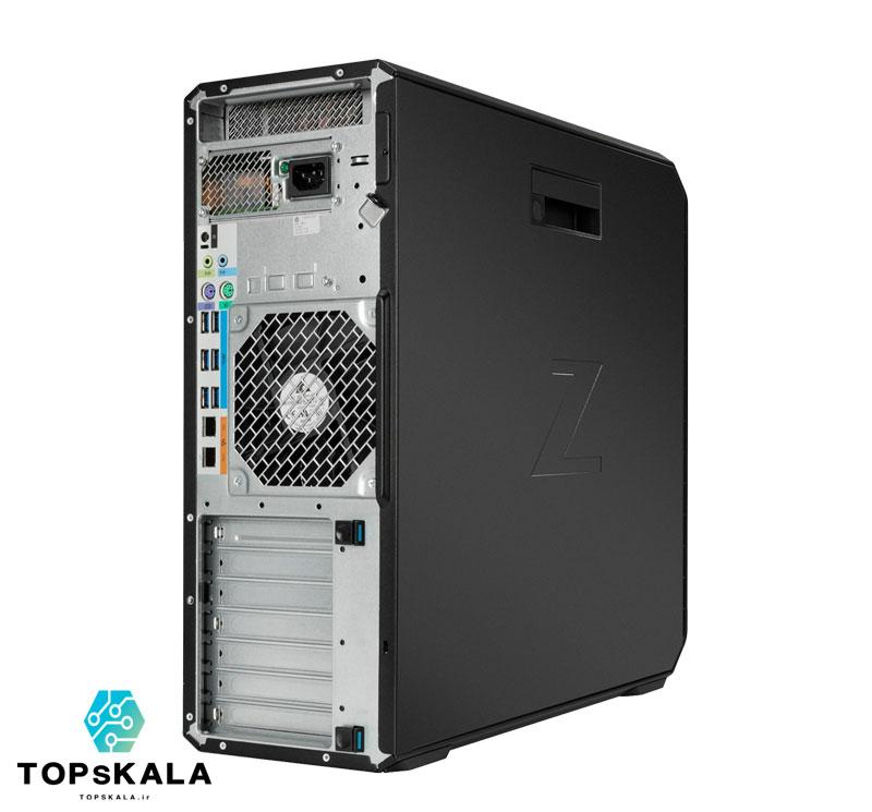 کامپیوتر آکبند اچ پی مدل HP Z6 G4 WorkStation با مشخصات CPU Intel Xeon Platinum 8173M-RAM 48GB DDR4 ECC-HARD 1TB SSD nVme 2TB HDD-GPU 4GB Nvidia Quadro P4000 - تاپس کالا - PC-Desktop-HP-Z6-G4-WorkStation-CPU-Intel-Xeon-Platinum-8173M-RAM-48GB-DDR4-ECC-HARD-1TB-SSD-nVme-2TB-HDD-GPU-4GB-Nvidia-Quadro-P4000