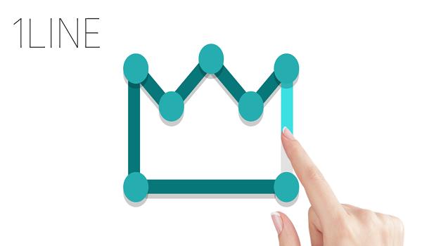 """دانلود 1LINE – one-stroke puzzle game – بازی """"نقطه بازی"""" اندروید"""