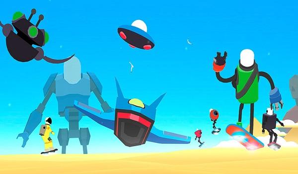 """دانلود Power Hover: Cruise – بازی فوق العاده """"ربات اسکیت باز"""" اندروید"""