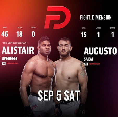 دانلود فایت نایت  176|  UFC Fight Night 176: Overeem vs. Sakai