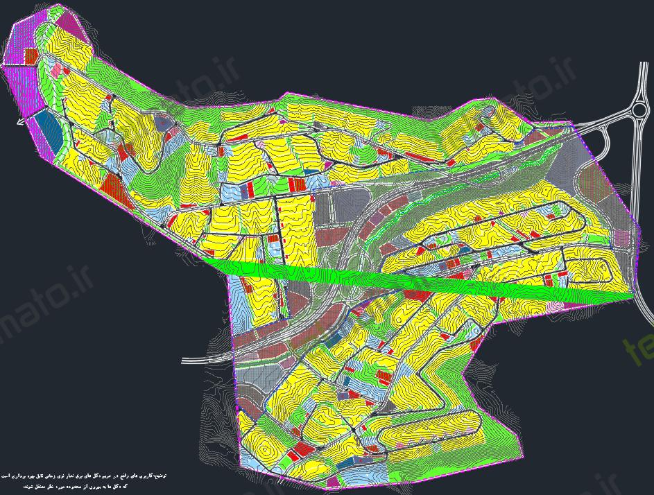 دانلود نقشه اتوکد فاز 1 _ 2 _ 3 _ 4 _ 5 _ 6 _ 7 _ 8 _ 9 _ 11 شهر جدید پردیس با فرمت DWG به صورت مجزا | فایل کامل هر فاز