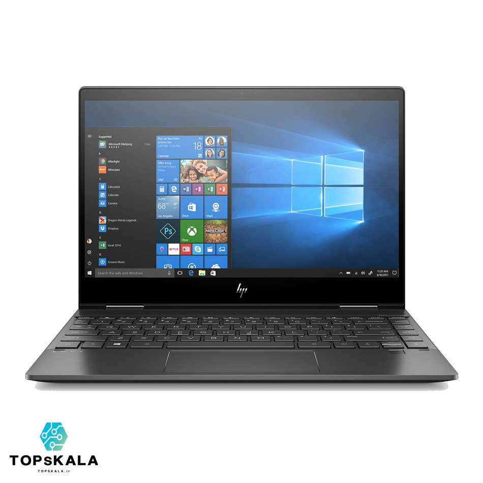 لپ تاپ استوک اچ پی مدل HP ENVY X360 13 - پردازنده AMD Ryzen 7 3700U و گرافیک AMD RX VEGA 10